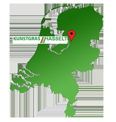 Kunstgras Hasselt-Zwolle tussen Zwolle en Genemuiden ligt centraal in Nederland en is gemakkelijk te bereiken