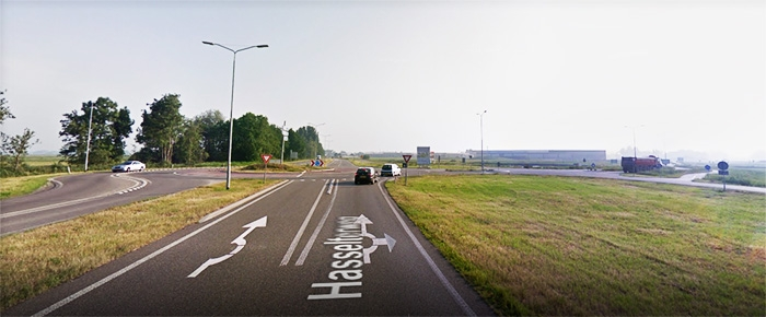 Routebeschrijving naar Kunstgras Hasselt